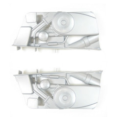 Enjoliveurs moteur Quad Polaris 700 12V Peg-Pérego