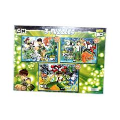 3 Puzzles Ben10