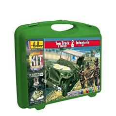 Maquette Ton Truck & Infanterie Us Heller 60997 60997