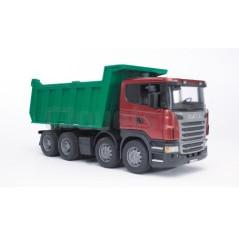 Scania serie R avec benne basculante BRUDER 03550