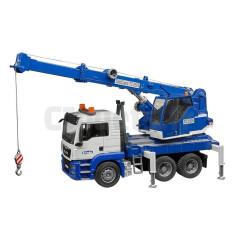 Camion Grue MAN TGS bleu avec Module Son Et Lumière Bruder 03770 BRUDER 59,90 €