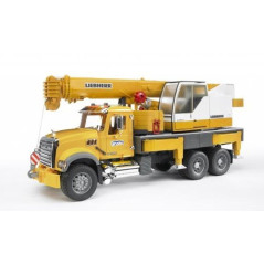 Camion grue MACK Granite BRUDER 02818