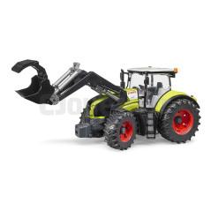 Tracteur CLAAS Axion 950 avec pelle, Bruder 03013