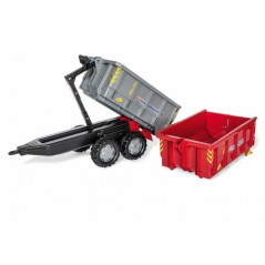 Remorque porte container Rolly Toys