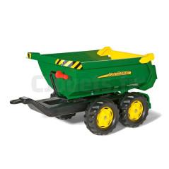 Remorque basculante John Deere double essieu Rolly Toys 122165 Tracteurs à pédales