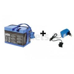 Batterie 12 Volts 12 Ah + chargeur 12 volts Peg-Pérego PEG-PEREGO KIT/KB0036+CB0302