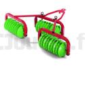 Déchaumeur Rolly Toys 123841 Tracteurs à pédales