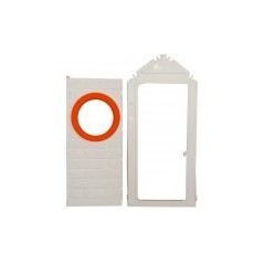 Porte avec cadre pour maison Smoby