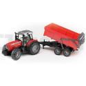Tracteur Massey Ferguson avec benne basculante Bruder 02045 02045