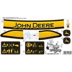 Decors adhésif RollyDigger John Deere Rolly Toys