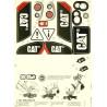 Decors adhésif RollyDigger CAT Rolly Toys