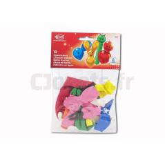 10 Ballons figurines assortis EVERTS 8300043