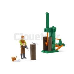 Kit du forestier avec personnage BRUDER 62650