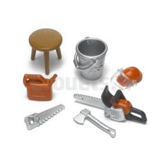 Kit d'accessoires pour bûcheron BRUDER 62601