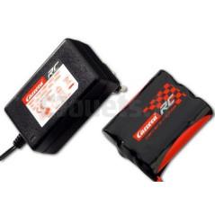 Batterie Li-Lo 11,1V 1200 mAH + chargeur 12,6 V 800 mA Carrera RC 800009