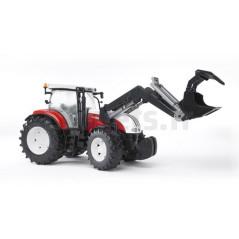 Tracteur Steyr CVT 6230 avec chargeur BRUDER 03091