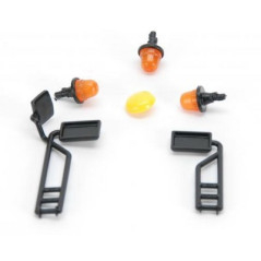 Rétroviseurs et gyrophares pour moissonneuse BRUDER 02132