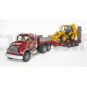 Camion MACK avec tractopelle BRUDER 02813 BRUDER 79,90 €