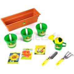 Kit jardinière et semences Kids garden de Klein 2680