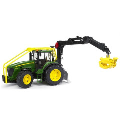 Tracteur forestier John Deere 7930 avec chargeur Bruder 03053