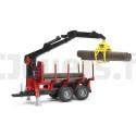 Remorque forestière avec chargeur Bruder 02252 BRUDER 36,99 €