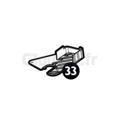 Support gauche Ducati GP Peg-Pérego