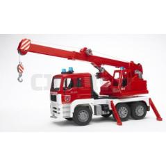 Camion pompier grue BRUDER 02770 Camions