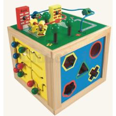 Cube actif en bois Bino 84185