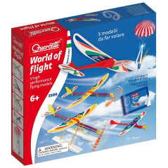 Kit 5 avions différents Quercetti 3599
