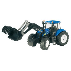 Tracteur New Holland T8040 avec chargeur BRUDER 03021