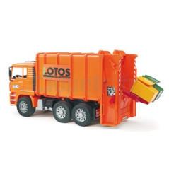 Camion à ordures MAN BRUDER 02762 Camions