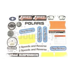 Décors adhésifs Quad Polaris 700 12V Peg-Pérego