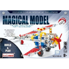Avion 181 pièces Construction en Métal