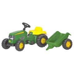 Tracteur à Pédales rollyKid + remorque Rolly Toys 012190