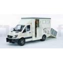 Mercedes Sprinter transport de chevaux BRUDER 02533 BRUDER 02533