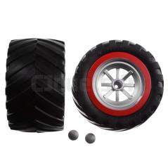 2 Roues arrière pour Carrera Red Scorpion 142018 CARRERA R/C 370990450