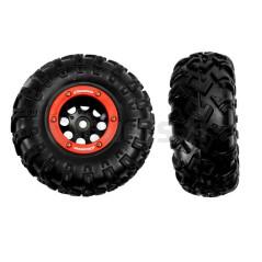 2 Roues Arrière pour Rock Crawler, Rock Crawler Carrera 102011/100011