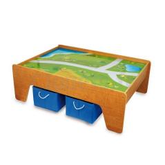 Table de Jeux En Bois Avec Bacs Rangement 119 x 82 x 40 cm 119,90 €