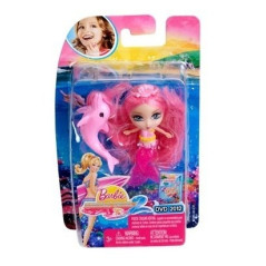Mini Poupée Mermaid Tale 2 Mini Pink Barbie W2890 BARBIE W2890