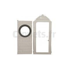 cloison fen tre et encadrement de porte pour my house smoby 310241. Black Bedroom Furniture Sets. Home Design Ideas