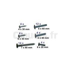 Kit Visserie pour Portique Smoby Himalaya 506200 SMOBY 53533764
