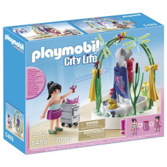Styliste Avec Podium Lumineux Playmobil 5489