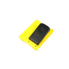 Pédale accélérateur jaune avec mini interrupteur Peg-Pérego PEG-PEREGO SAGI3977JKY