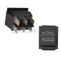 Interrupteur Mode Manuel ou Télécommande 6 voies