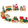 Caravane de Noël en bois
