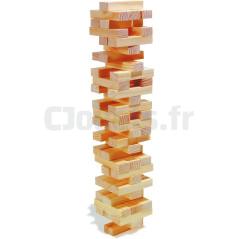 La tour bancale en bois 8004