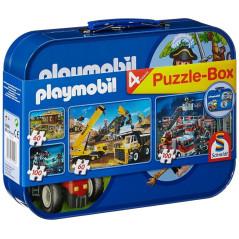 Coffret 4 Puzzles Playmobil Schmidt 55599 SCHMIDT 16,90 €