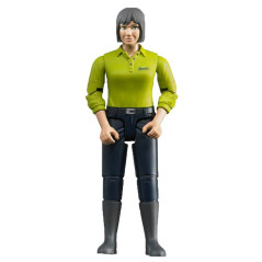 Figurine femme fermière - BRUDER - 60405
