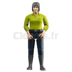Figurine femme fermière - BRUDER - 60405 BRUDER 60405