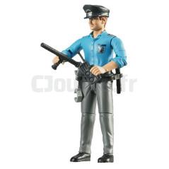 Policier Avec Accessoires - BRUDER - 60050